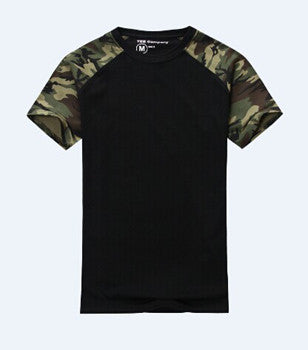 Men Casual Camouflage T-shirt
