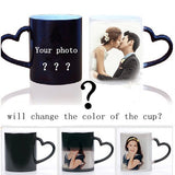 Customize Magic Color Changing Mug with Lid & Spoon