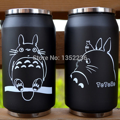 Cartoon cans glass Stainless Steel Mug v