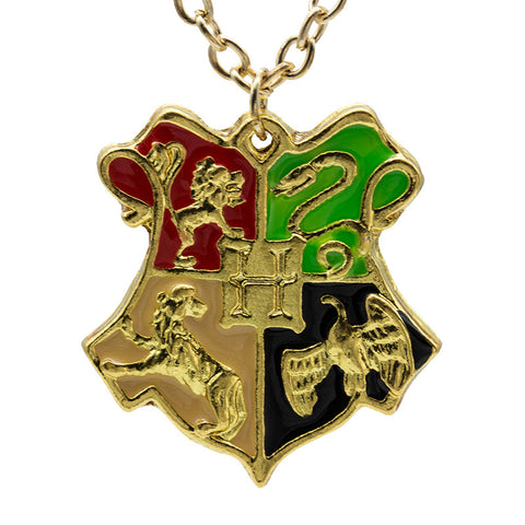 Hogwarts School Badge Necklace Pendant- FREE SHIPPING