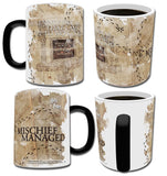 New Arrival Mischief Managed Marauder's Map Morphing Mug