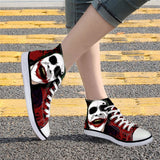 Harley Quinn and Joker Custom Made Shoes Size 35-45