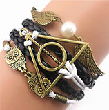 Deathly Hallows Wings Bracelet-FREE Just Pay Shipping