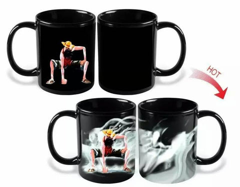 One Piece Luffy Color Changing Magic Mug