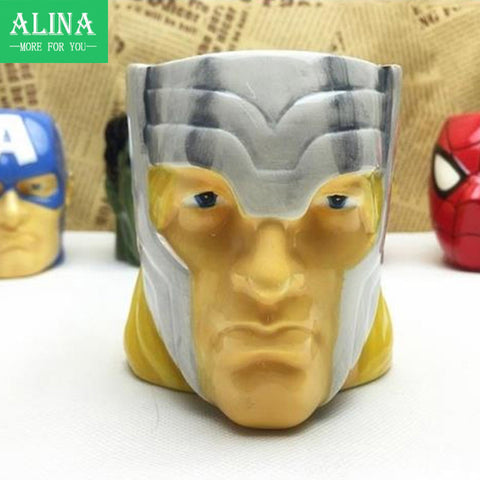 New hot selling Hero Alliance New Series Of Creative Ceramic Cup Mug