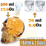 Crystal Head Vodka Skull Bottle Lots