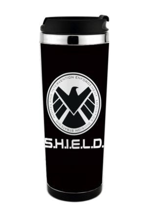 Shield of Agents Travel Mug New Cap Easy For Drinking