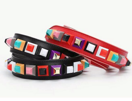 Strap Square Red