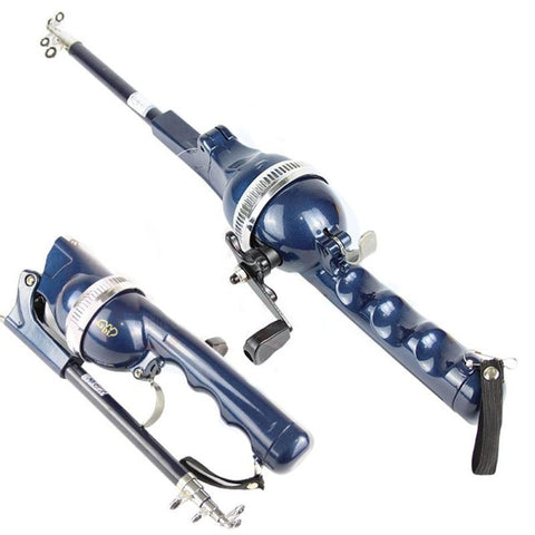 Folding Telescopic Fishing Rod