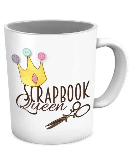Scrapbook Queen Mug
