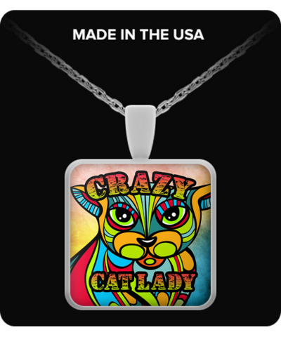 Crazy Cat Lady Necklace