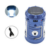 Rechargeable Solar Camping Lantern - LED light for Camping, Hiking, Outdoors