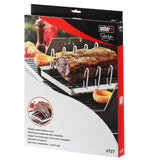 Stainless Steel Rib Roast Rack - BBQ Warehouse - 1