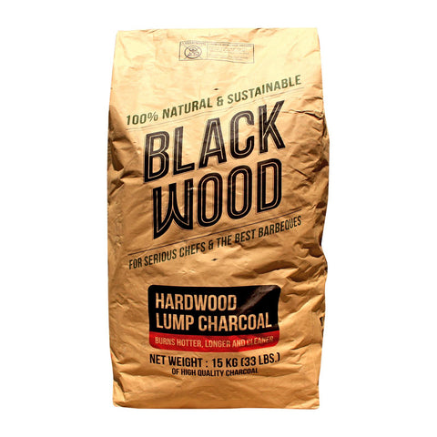 Hardwood Lump Charcoal 15kg, Blackwood