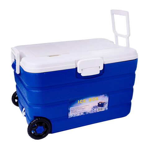 Ice Box Cooler With Wheels - 40 Litre