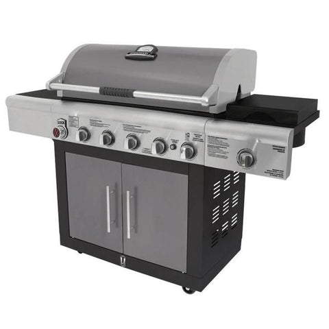 BRINKMANN - 6 Burner with Side Burner