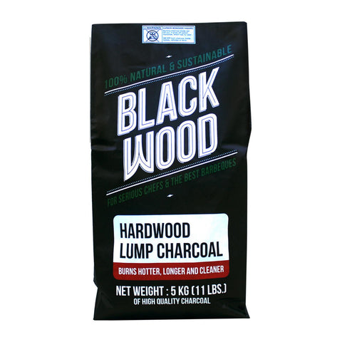 Hardwood Lump Charcoal 5kg, Blackwood