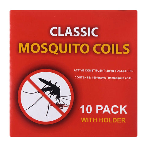 Waxworks Classic Mosquito Coils - Insect Repellent