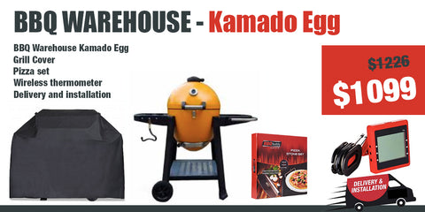 Kamado Egg - charcoal grill - Package Deal