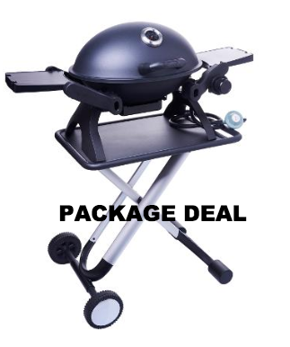 BBQ Warehouse Portable Grill Set