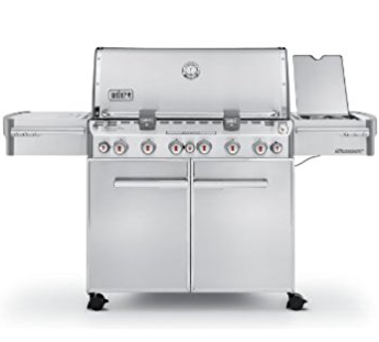 Weber Summit S670 – 6 Burners Stainless Steel Gas BBQ Grill