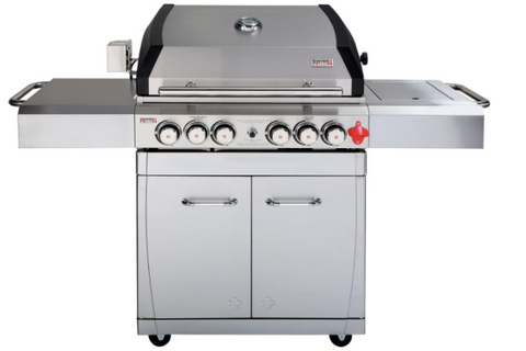 Swiss Grill Arosa 250 S/S Gas BBQ Grill + infrared side burner