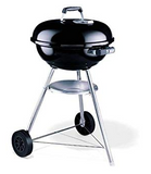 "Weber Compact Kettle 47cm with Thermometer (18.5"") Charcoal Grill"