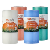 WaxWorks Citronella Pillar Candle - Orange Candles