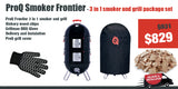 ProQ Frontier Smoker Grill Package