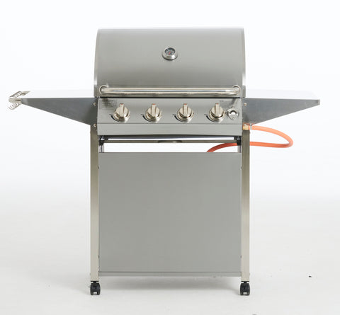 Papa's Grill, 4 Burner Stainless steel grill