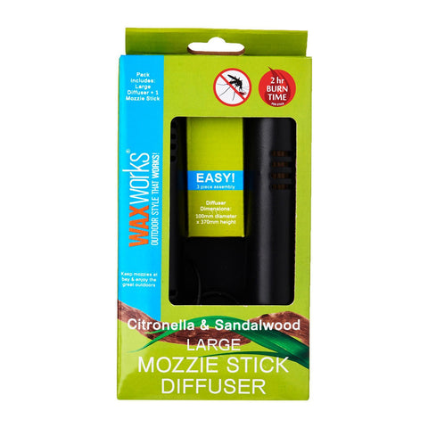 Waxworks Large Mozzie Stick Diffuser
