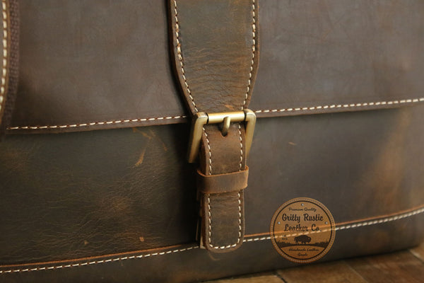 Vintage Crazy Horse Leather
