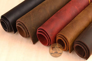 Why does Crazy Horse Leather come in Different Colors?