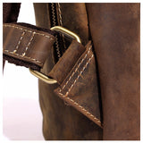 Rugged Tobacco Leather Sling Bag - Gritty Rustic Leather Co.