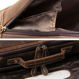 Rugged Gentlemen's Business Casual Briefcase