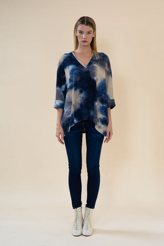 VENICE SWEATER 311 brush hatchi tiedye