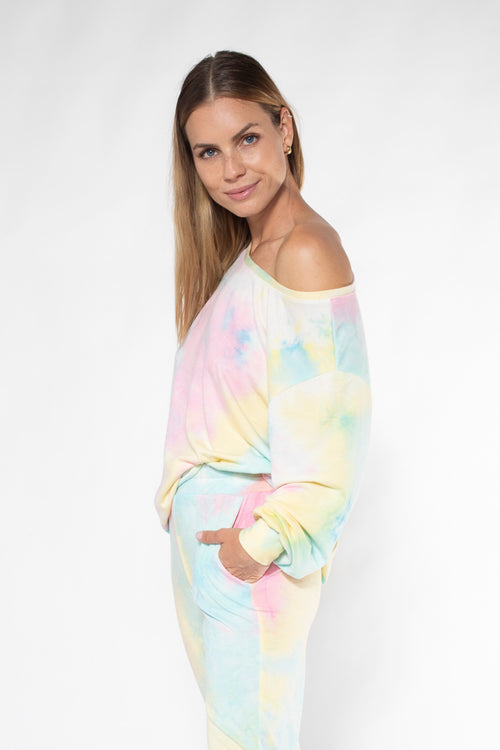 ACE SWEATER baby french tiedye