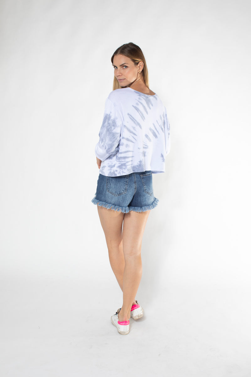 LOLA SWEATER fleece tiedye