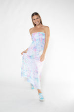 FLYNN 3/4 DRESS tiedye