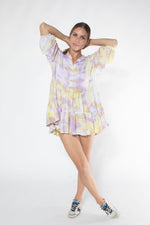 CAYMAN MINI DRESS tiedye