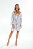 SAWYER TUNIC cotton stripe