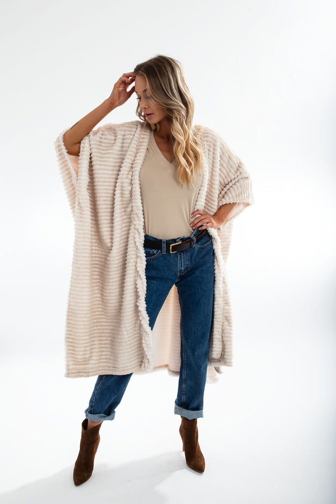 MILAN CARDIGAN LONG snuggle ivy