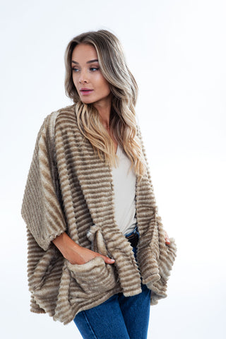 HIGHLAND CARDIGAN fleece