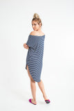 MAC MINI DRESS thin stripes