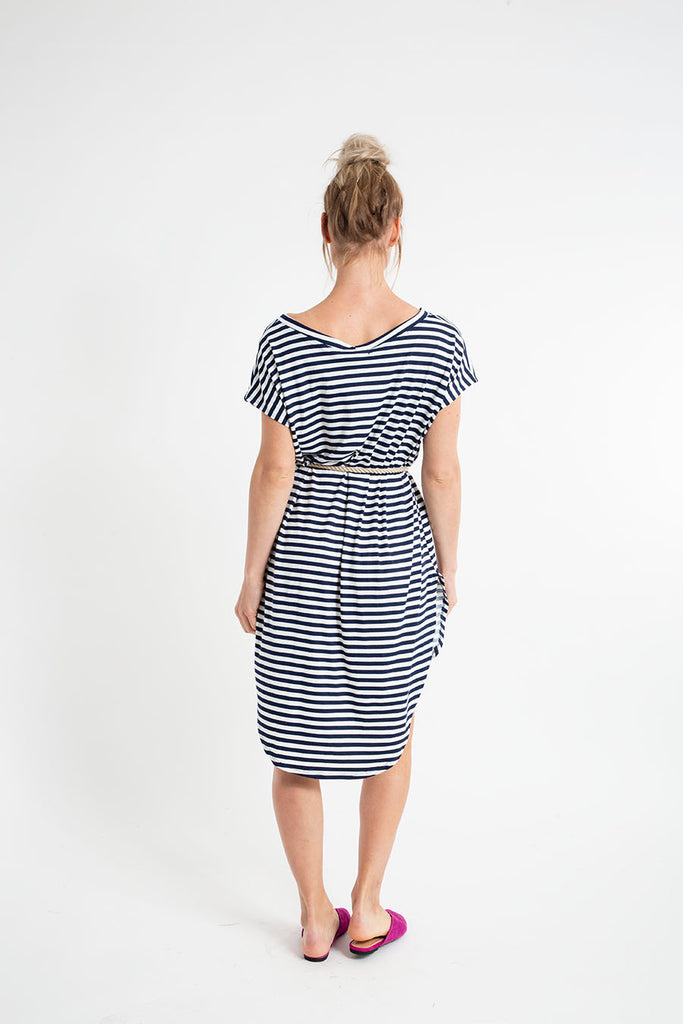 MAC MINI DRESS stripes