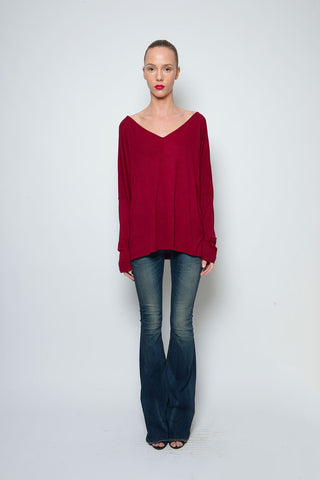 CLYDE TOP RIBBED