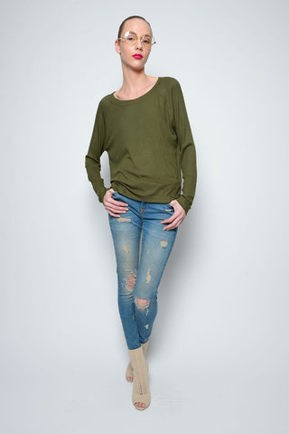 BROOKLYN SWEATER-DRESS RIB