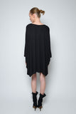 PONCHO MINI DRESS