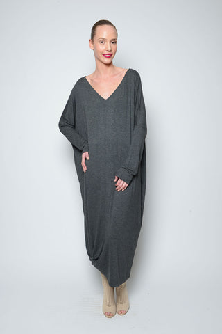PONCHO ASYMMETRICAL DRESS