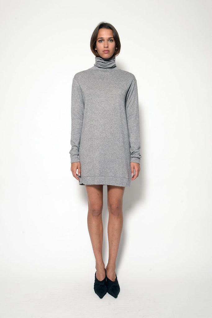 NICOLE TURTLENECK MINI DRESS